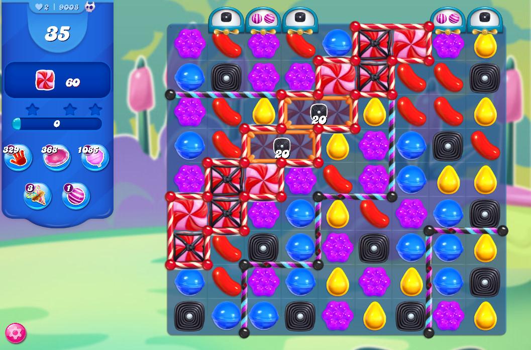 Candy Crush Saga level 9008
