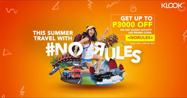 Klook Summer Promos Discount NORULES