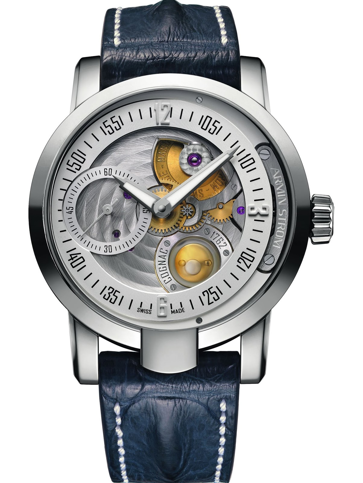 Armin Strom a štamprle Cognacu 1762 Gaultier - Švajčiarske hodinky ... 954b8a2b252