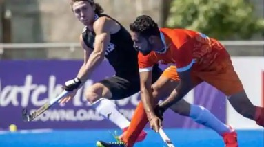 Indian men's hockey team plays 4-4 draw against Argentina in a practice match