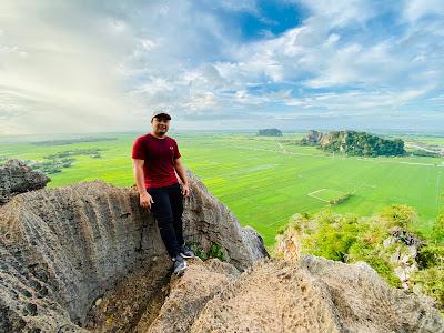 Daki Bukit Mok Cun di Kodiang, Lawa Gila Weyh View Dia!