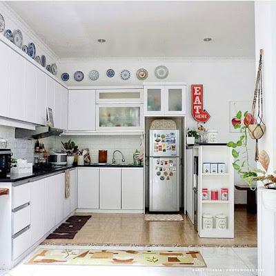 model dapur kecil elegan yang cantik dan bagus