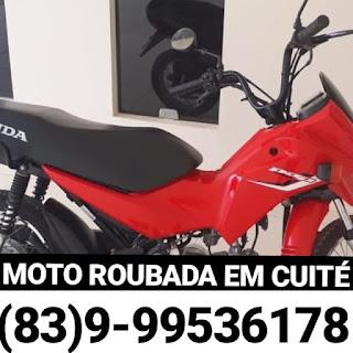 Homem tem moto e celular roubados em Cuité
