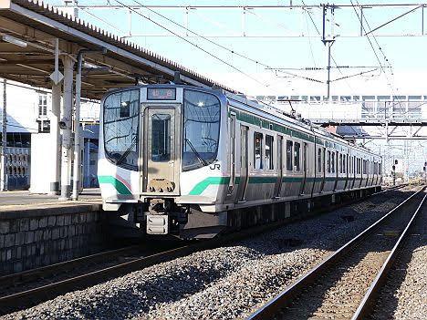 東北本線 仙台行き2 E721系