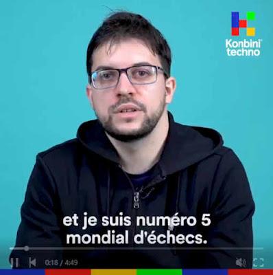 Le Français n°5 des échecs, Maxime Vachier-Lagrave  - Photo © Kombini