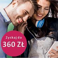 Promocja Zyskaj 360 zł - 5 edycja w Banku Millennium