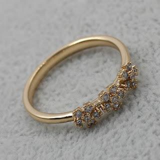 Кольцо K-001-G бижутерия