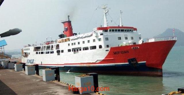 Harga Tiket Kapal Merak-Bakauheni Reguler Termurah