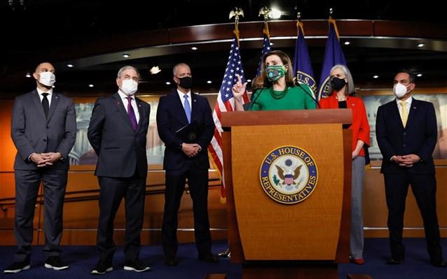 ΗΠΑ-Covid: «Πέρασε» από τη Βουλή των Αντιπροσώπων το πακέτο ανάκαμψης ύψους 1,9 τρισ. δολ.