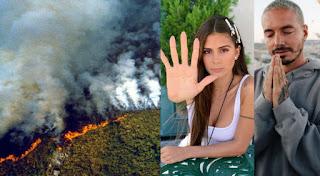 LOS ARTITAS EMPEIZAN A REACCIONAR POR LA TRAGEDIA EN EL AMAZONAS.