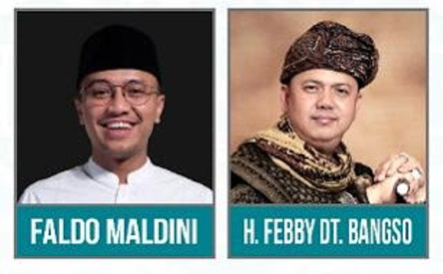 Faldo Febby Simbol 'fast force' & 'fast forward Calgub Sumatera Barat