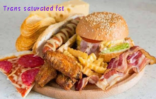 Bad effect of trans saturated fat
