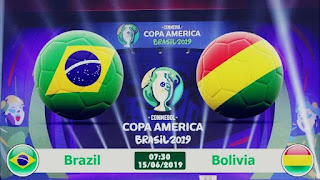 ملخص مباراة البرازيل ضد بوليفيا مباشرة في افتتاح كوبا امريكا