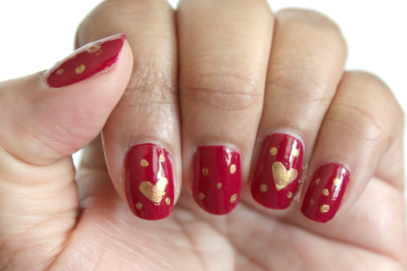 Easy Valentine S Day Nail Art Anyone Can Do Stacie Raye