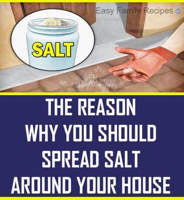 Spreading Salt Around The House – Here's Why It's So Incredible