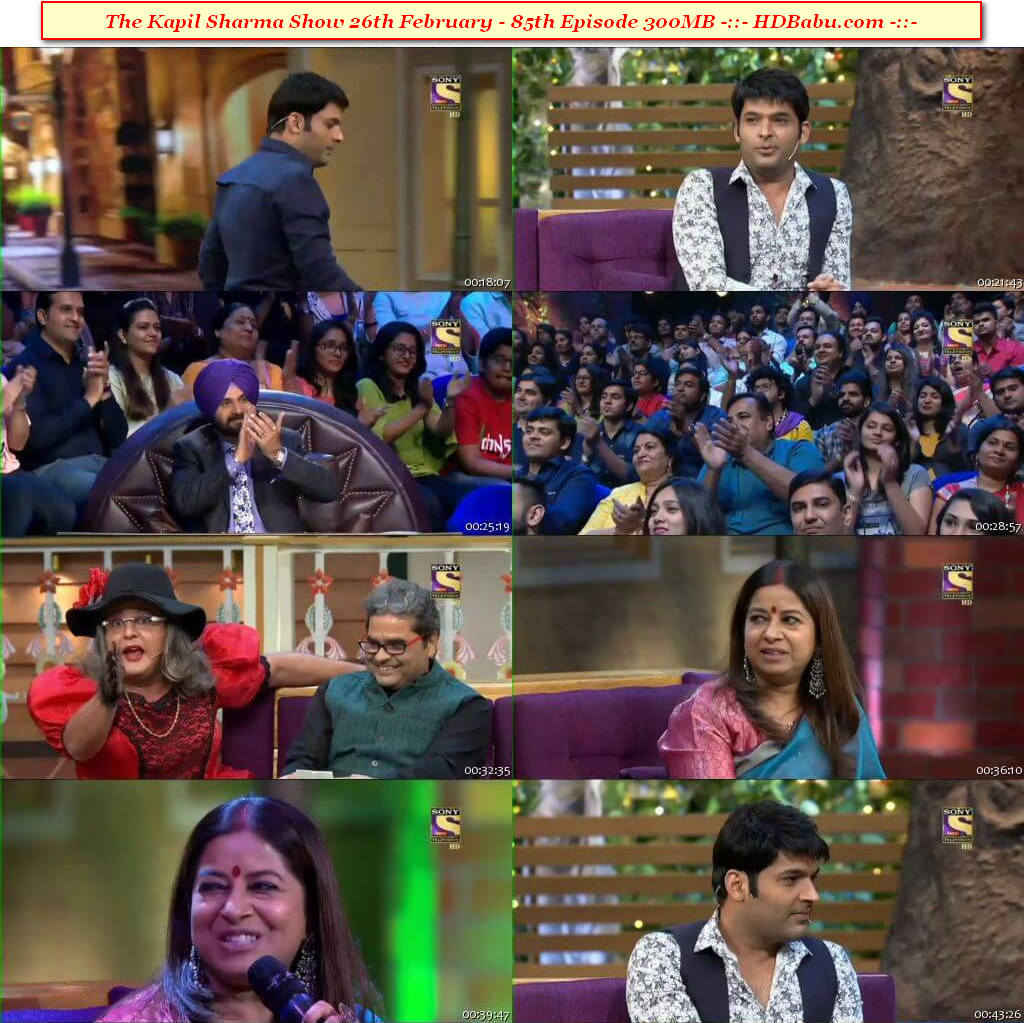 The Kapil Sharma Show Episode 85