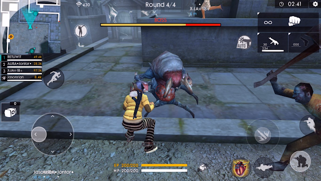 Advance Server FF Zombie Baru di Mode Death Uprising