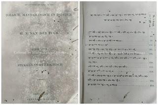 buku pelajaran bahasa batak bataksch leesboek tobasch mandailingsch dan dairi