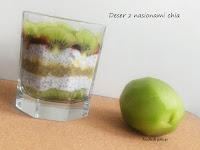 Chia z mleczkiem kokosowym i kiwi