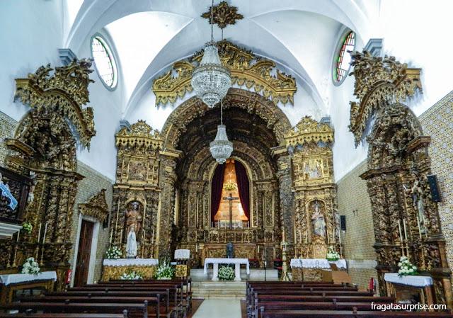Decoração barroca da Igreja de Nossa Senhora da Apresentação, Aveiro, Portugal