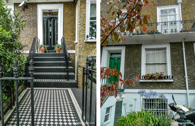 Londres - bairro de Notting Hill