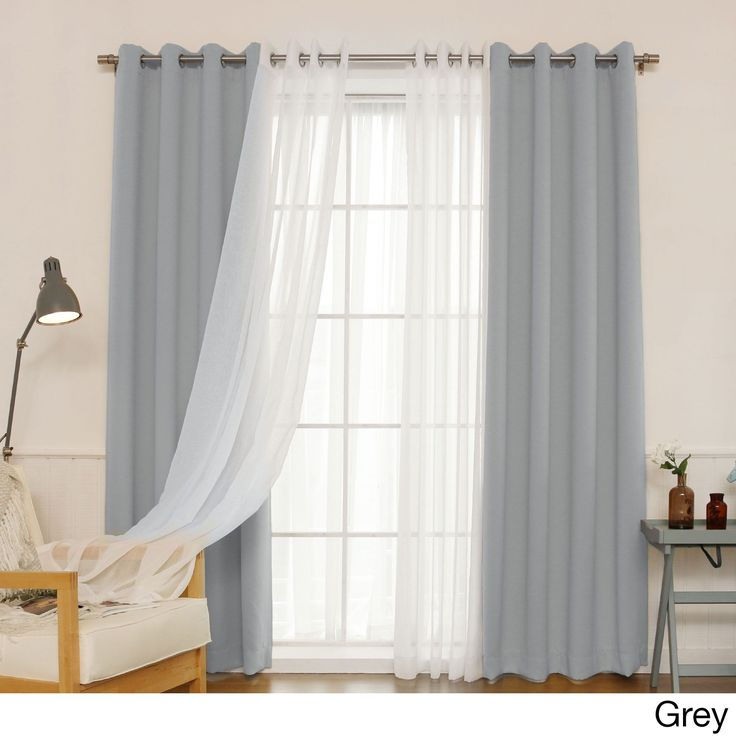 How To Hang Curtains Without Rods Door Double Curtain Eyelet