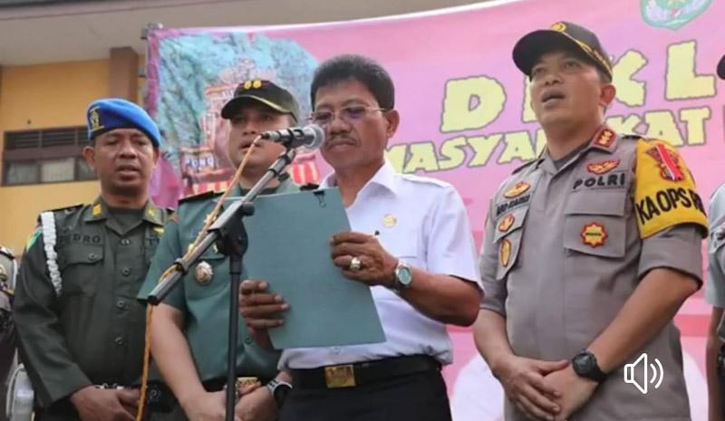 """Operasi Patuh Jaya Tahun 2019., """"Deklarasi Anti Melawan Arus"""""""