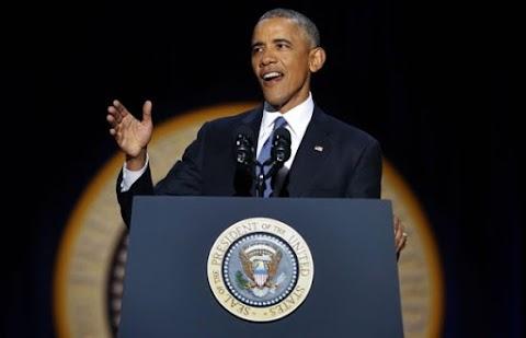 Full text of President Obama's farewell speech