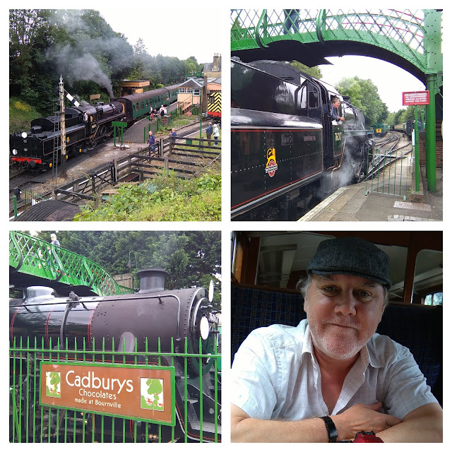 War on The Line - a day out on the Watercress Line