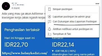 2 report kiriman