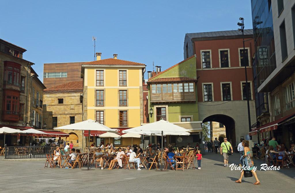 Plazuela del Marqués en Gijón