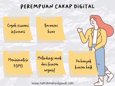 perempuan cakap digital