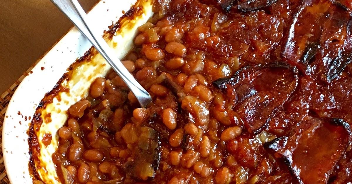 Sweet Little Bluebird: Anastasia's Best-Ever Baked Beans