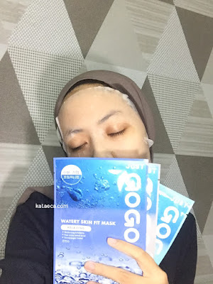 review sheet mask just gogo