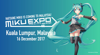 Miku Expo Kuala Lumpur 2017 Banner