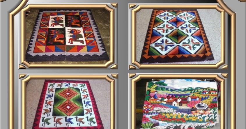 Peruanische Webteppiche ~ Produkte aus Peru