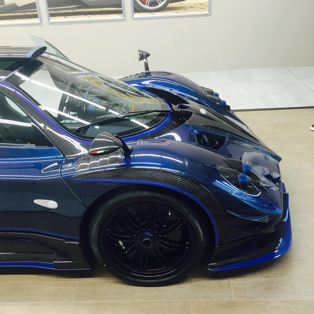 Pagani Zonda By Mileson Revealed, The Craziest Road-Legal