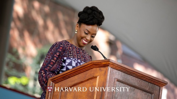 Award-winning Nigerian Author Chimamanda Ngozi Adichie addresses Harvard's Class of 2018