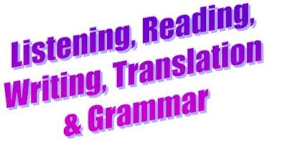 Materi Bahasa Inggris untuk SMP Kelas 8 Listening, Reading, Writing, Translation & Grammar