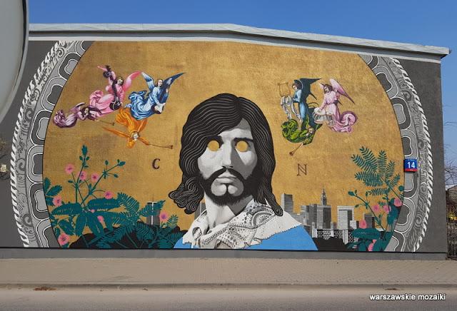 Warszawa Warsaw Białołęka mural streetart muralart złota płyta warszawski sen Marywilska street