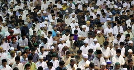 Seruan Jonru Tak Laku, Ribuat Umat Islam Malah Salat Idul Fitri di Masjid Istiqlal, Ini Ceramah Menyejukan Quraish Shihab