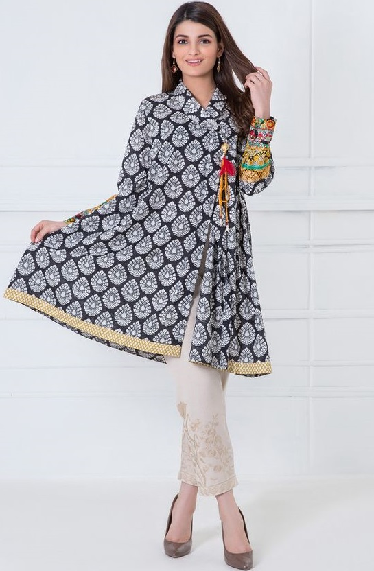e9c267b79112a Pakistani Girls Short Frock Design Etm. 35 Latest Short Frock Designs For Ladies  Sheideas