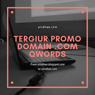 Tergiur harga promo domain .com di qwords
