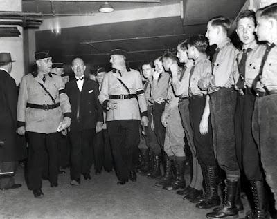Convención nazi en el Madison Square Garden en 1939