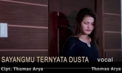 Lirik Lagu Pof Malaysia Thomas Arya - Sayangmu Ternyata Dusta