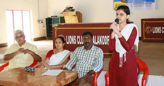 Free Eye Camp at Alakode Lions Club