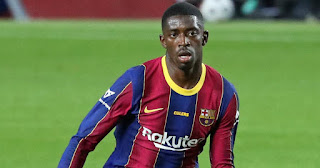 Revealed: Barca winger Dembele refused Manchester United as he was in talks with Juventus