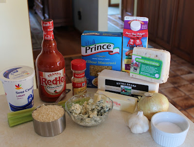The Buffalo Chicken Mac and Cheese Ingredients