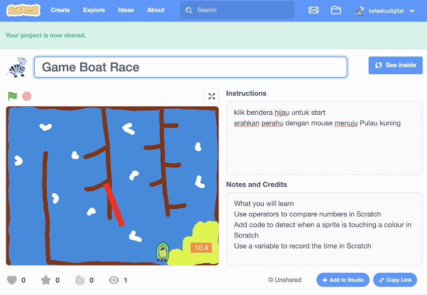 GAME BOAT RACE