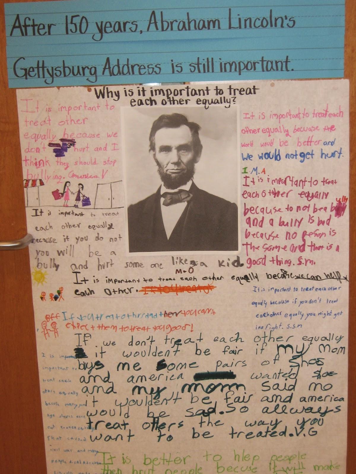 The Gettysburg Address Worksheet Answers